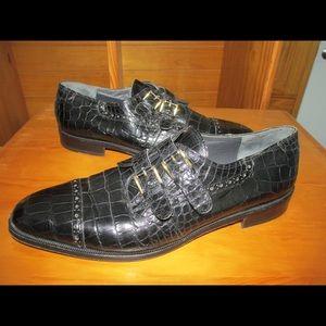 Authentic Mauri Alligator Men's shoes size 10 M